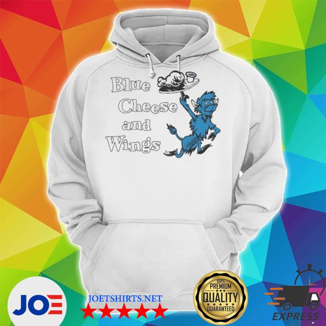 Buffalo vol 6 24 blue cheese and wings Unisex Hoodie
