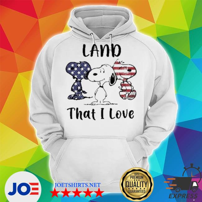 Snoopy land that i love Unisex Hoodie