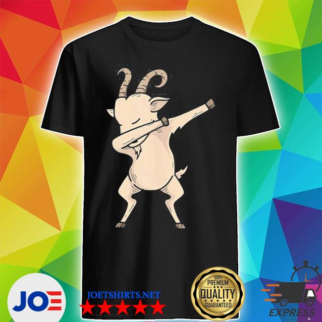 Cool dabbing goat hip hop dancing animal pun new 2021 s Shirt