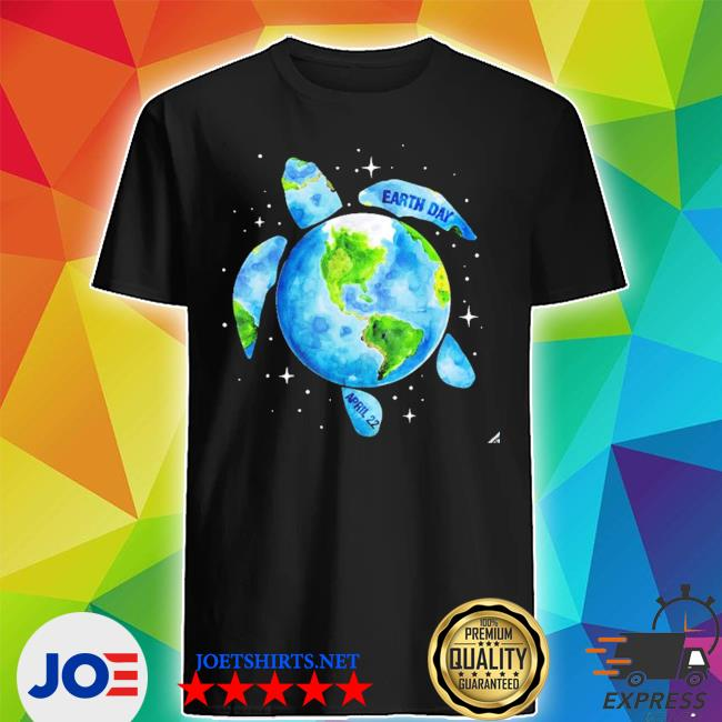 Earth day 2021 restore earth sea turtle art save the planet new 2021 s Shirt