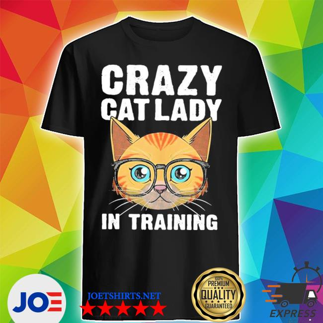 Funny crazy cat lady girls cool cat new 2021 s Shirt