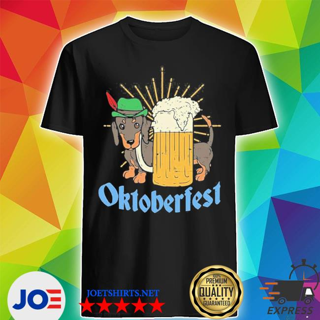Funny Oktoberfest German Dachshund Dog Drinking Beer new 2021 Shirt Shirt