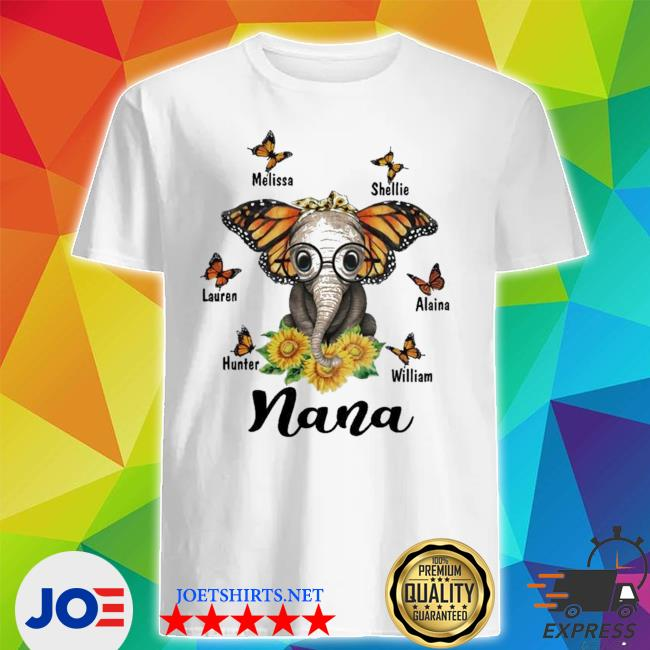 Melissa shellie lauren alaina hunter william nana new 2021 shirt
