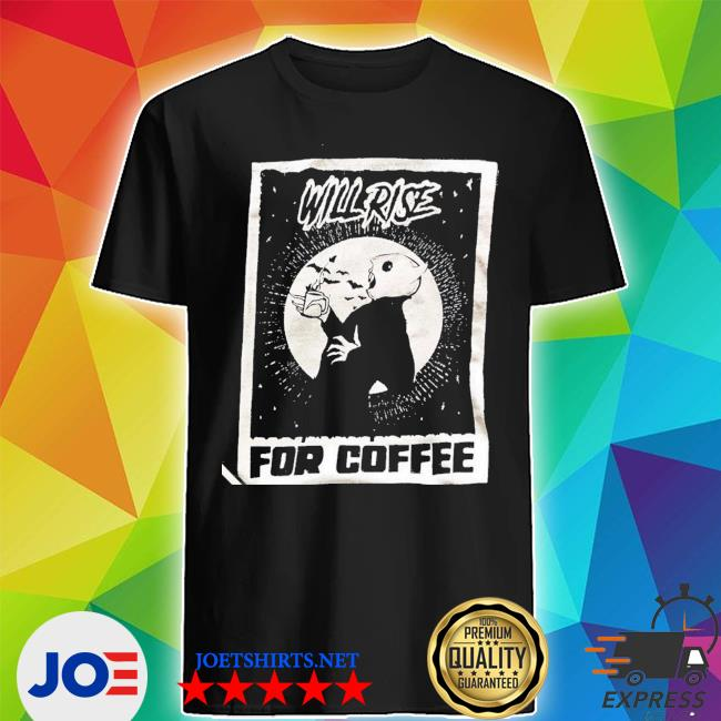 official Nosferatu Coffee Lover Shirt Shirt