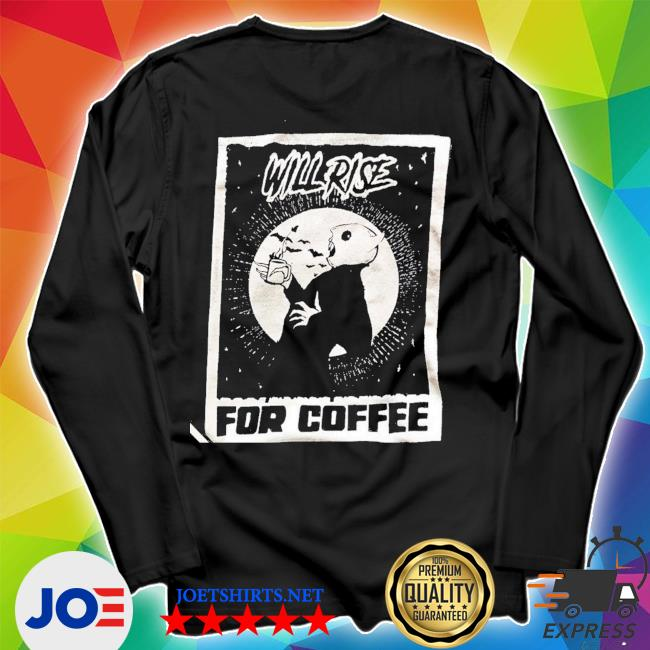 official Nosferatu Coffee Lover Shirt Unisex Long Sleeve Tee