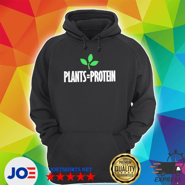 Plants = protein plant based diet workout vegan vegetarian new 2021 shirt