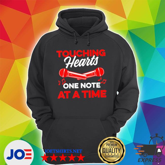 Touching hearts one note at a time for music teacher new 2021 shirt