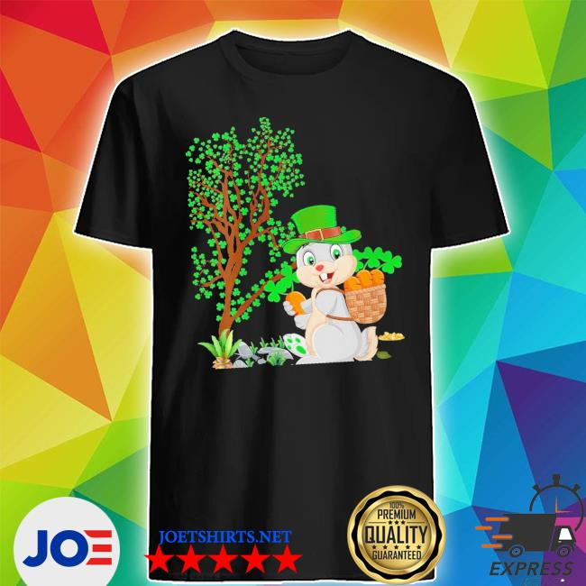Womens bunny leprechaun hat bunny st. patrick's day new 2021 s Shirt