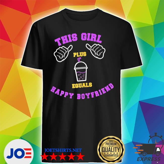 Womens this girl milkshake shake bubbletea boyfriend new 2021 s Shirt
