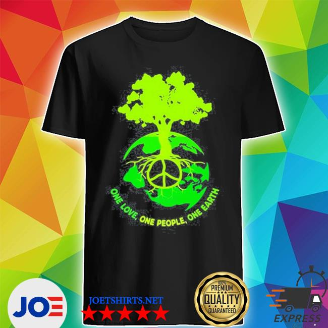 World map one love one people one earth s Shirt