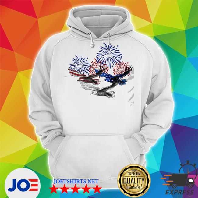 Eagle heart 4th of july s Unisex Hoodie