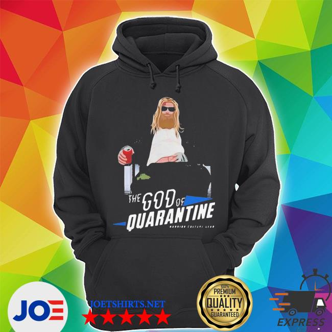 Hot fat Thor god of beer quarantined s Unisex Hoodie
