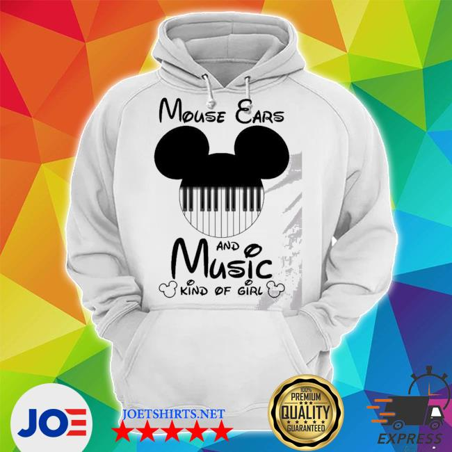 Mickey mouse ears and music kind of girl s Unisex Hoodie