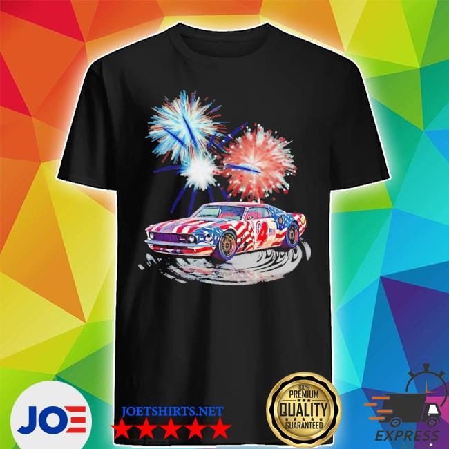 Muscle car happy 4th of july shirt