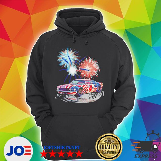 Muscle car happy 4th of july s Unisex Hoodie
