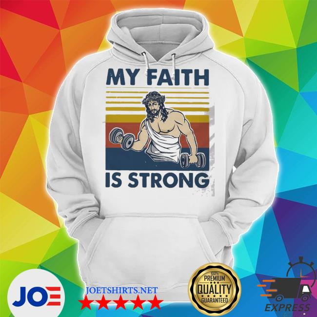 My faith is strong vintage s Unisex Hoodie