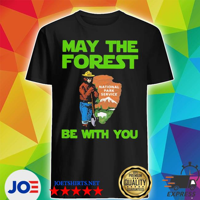 Nice farmer bear may the forest be with you shirt