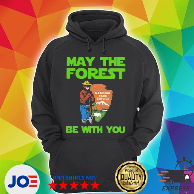 Nice farmer bear may the forest be with you s Unisex Hoodie