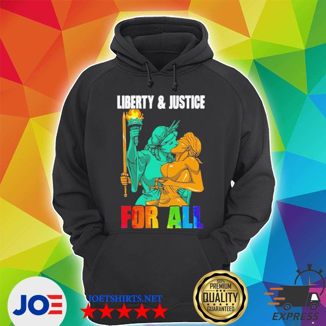 Nice LGBT liberty justice statue for all s Unisex Hoodie