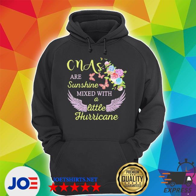 Top cmas are sunshine mixed with a little hurricane s Unisex Hoodie