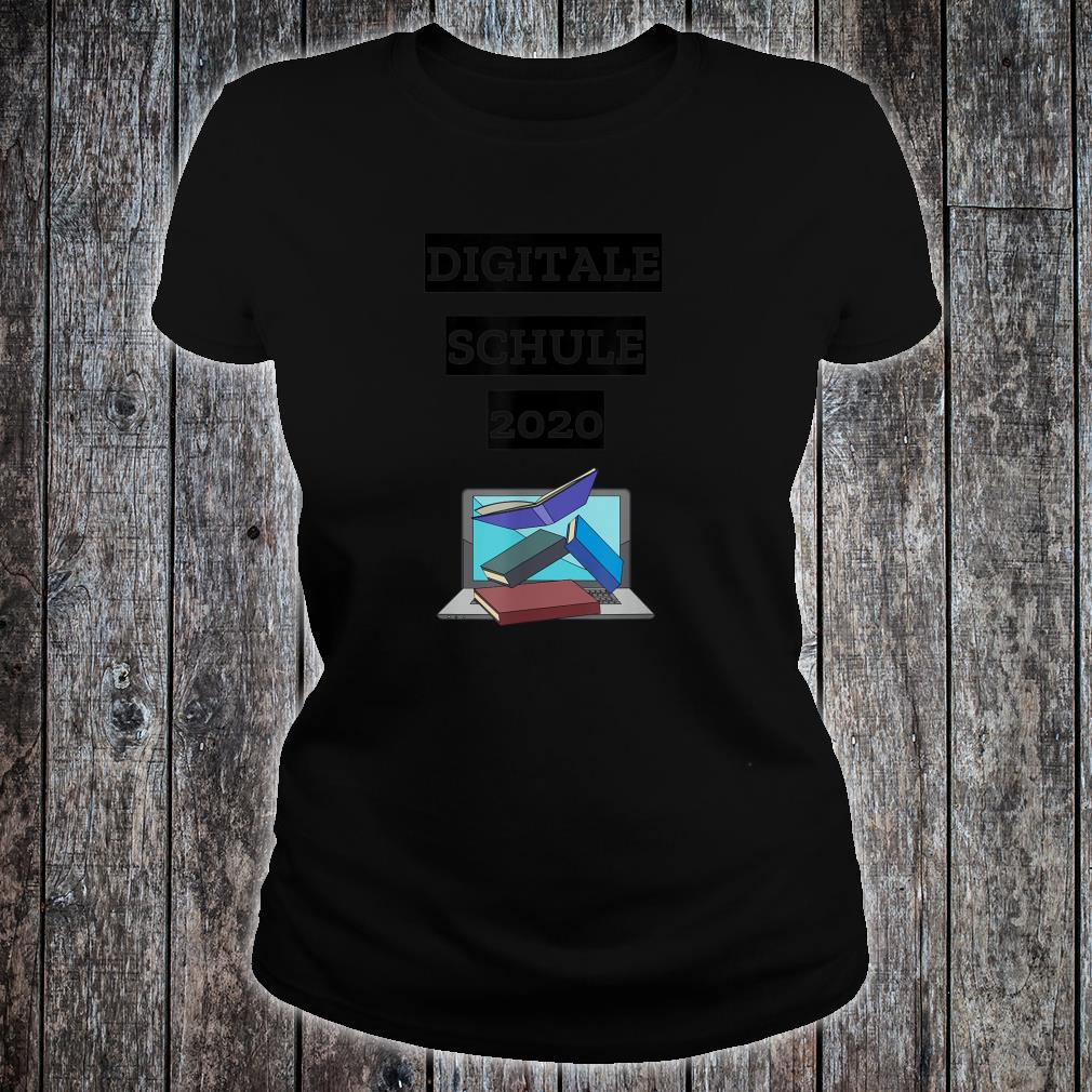 Digitale Schule 2020 Shirt ladies tee