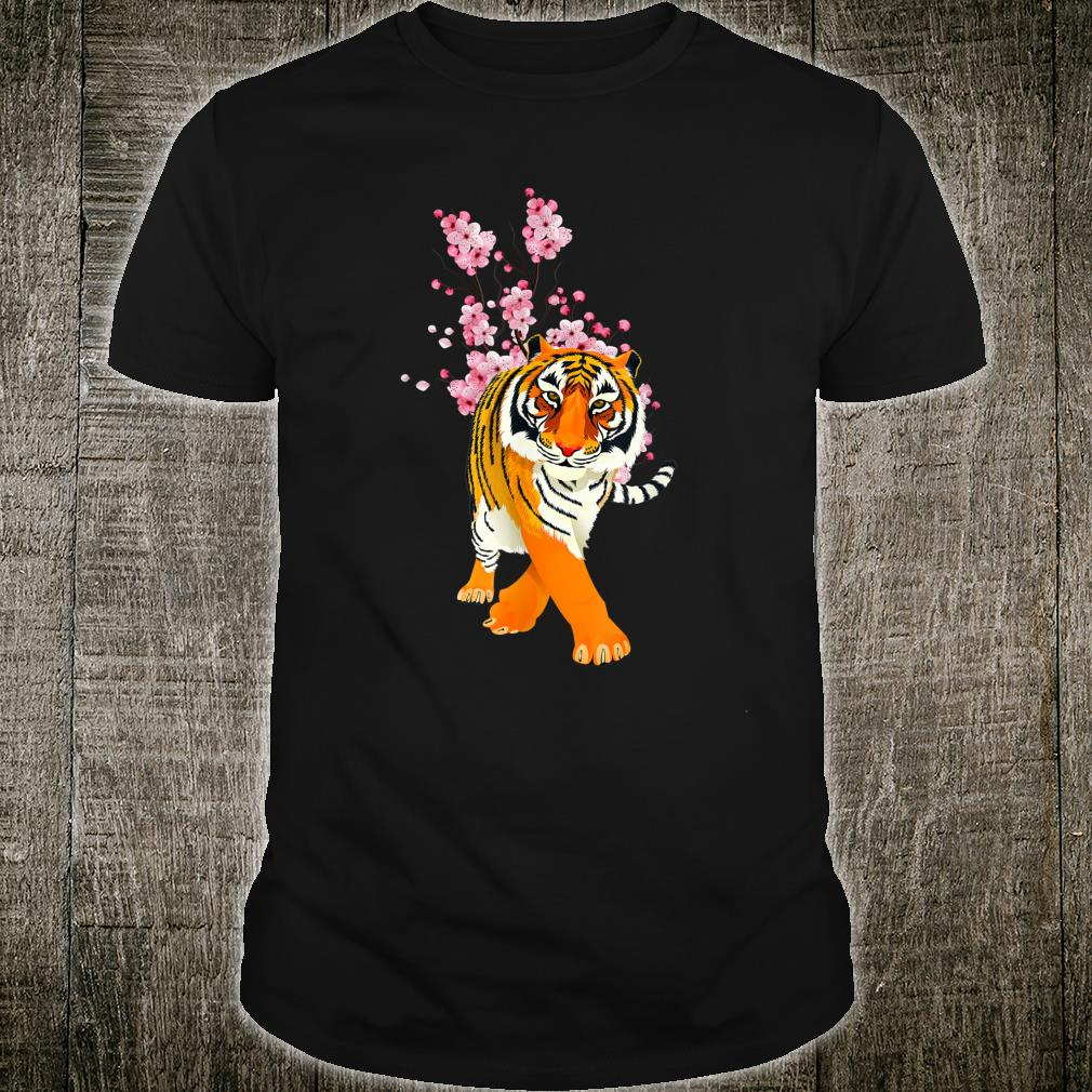 Flowers Tiger Shirt
