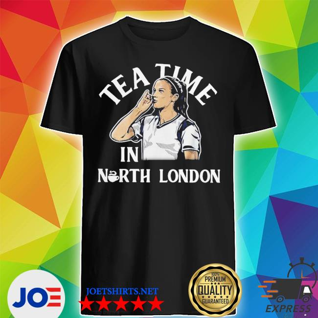 Alex morgan tea time in north london shirt