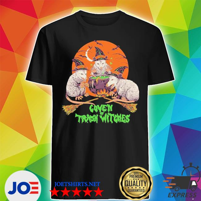 Coven of trash witch lightmoon mouse witch hat fire bat shirt