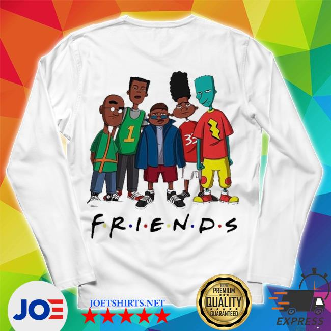 Friends we are black history month s Unisex Long Sleeve Tee