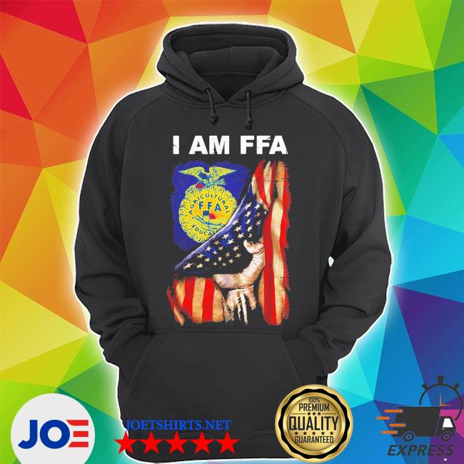 I am FFA american flag independence day s Unisex Hoodie