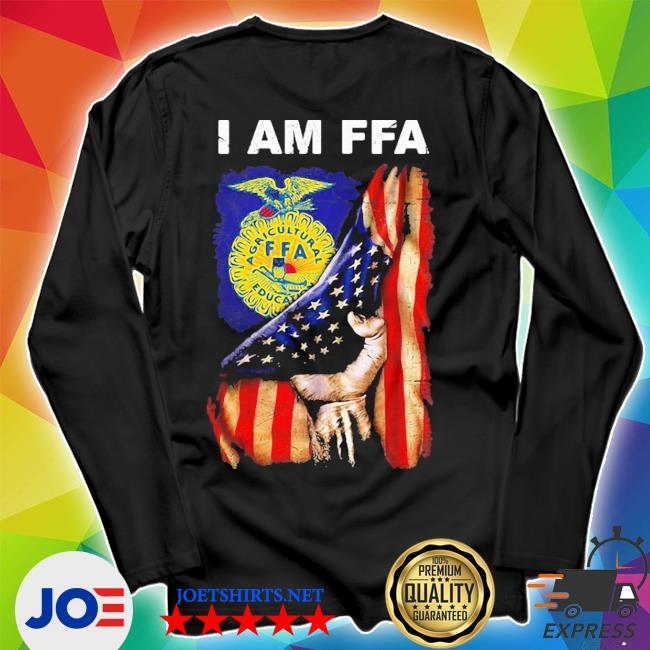 I am FFA american flag independence day s Unisex Long Sleeve Tee