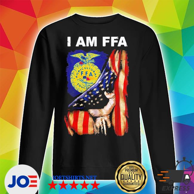 I am FFA american flag independence day s Unisex Sweater