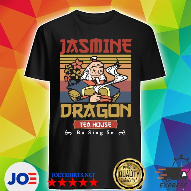 Jasmine dragon tea house ba sing se vintage shirt