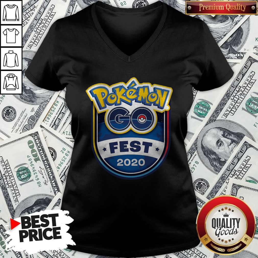 Pretty Pokemon Go Fest 2020 V- neck