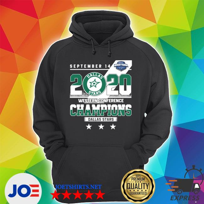 September 14 2020 Western conference Champions Dallas Stars s Unisex Hoodie