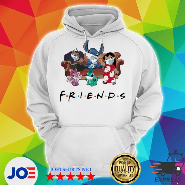 Stitch friends face mask s Unisex Hoodie