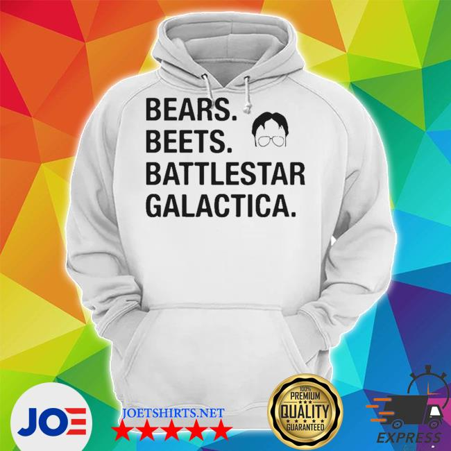 The office dwight schrute bears beets battlestar galactica s Unisex Hoodie
