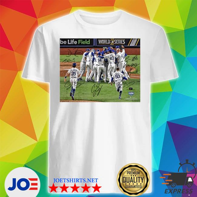 Official team los angeles dodgers mlb world series champions 2020 shirt