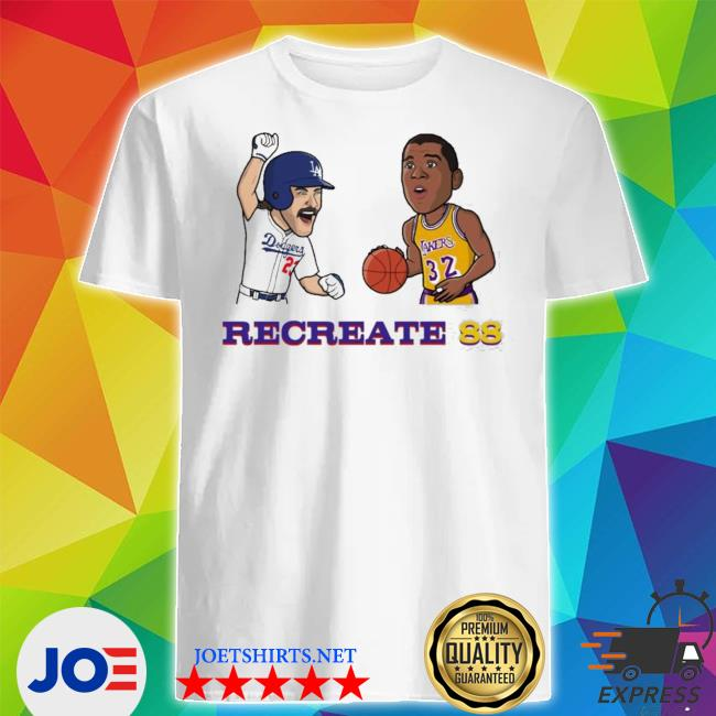 Recreate 88 LA Dodgers shirt