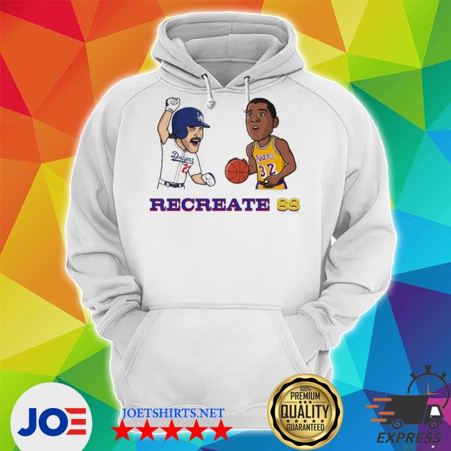 Recreate 88 LA Dodgers s Unisex Hoodie