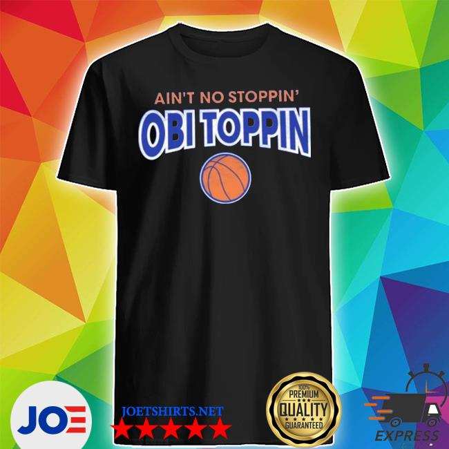 Official ain't no stoppin' shirt