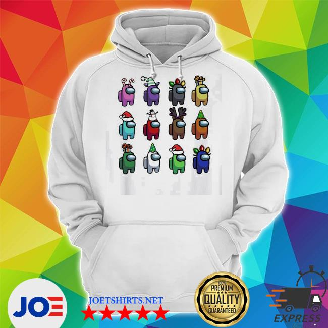 Official among us christmas character s Unisex Hoodie