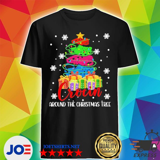 Official crocin around the christmas tree shirt