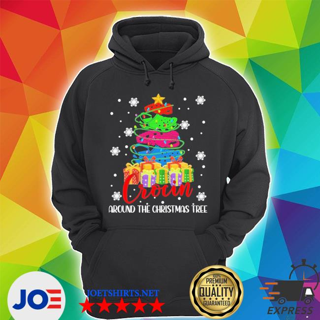 Official crocin around the christmas tree s Unisex Hoodie