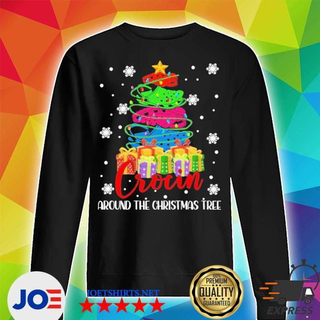 Official crocin around the christmas tree s Unisex Sweater