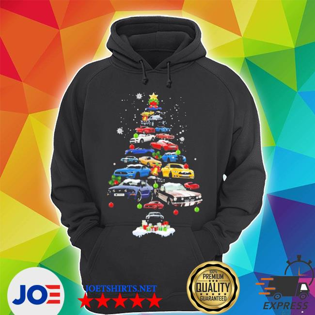 Official mustang car christmas tree s Unisex Hoodie