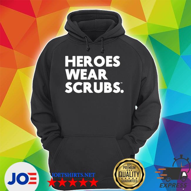 Official the dline merch heroes wear scrubs s Unisex Hoodie