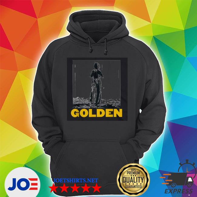 Official the man stand with golden 70s styles vintage s Unisex Hoodie