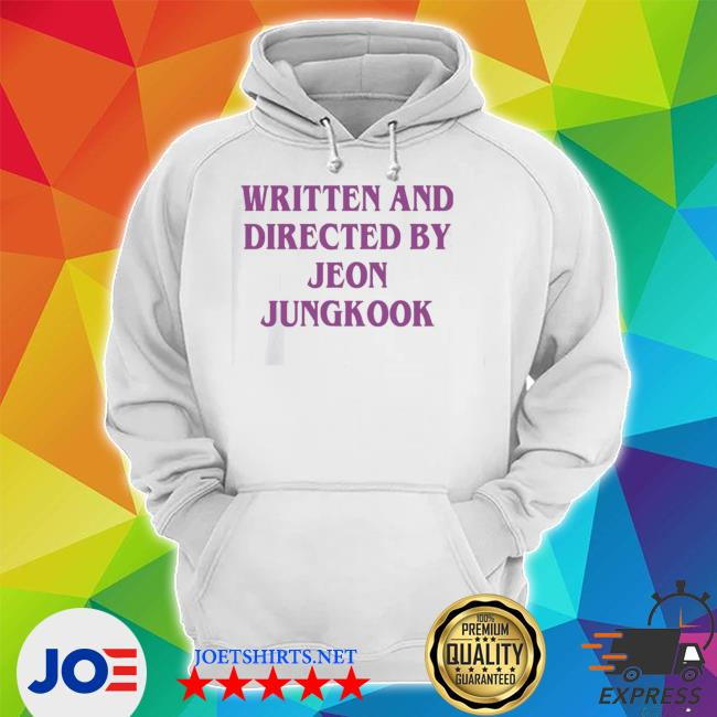 Official written and directed by jeon jungkook s Unisex Hoodie