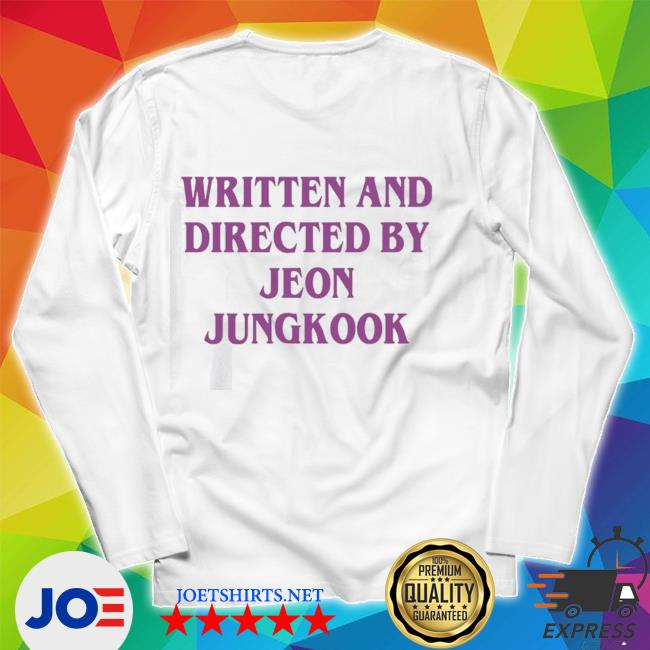 Official written and directed by jeon jungkook s Unisex Long Sleeve Tee